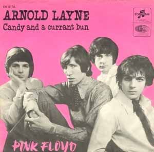 pink floyd candy and a currant bun