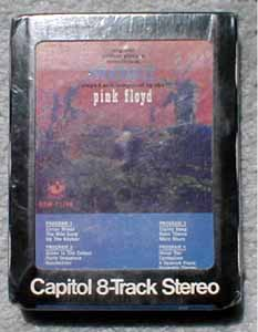 pink floyd more 8 track